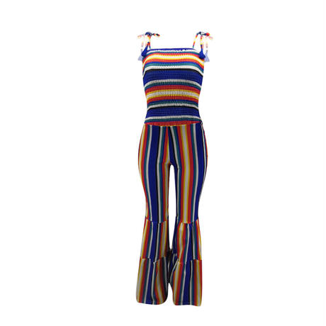 BLUE★Stripe all-in-one  one-84