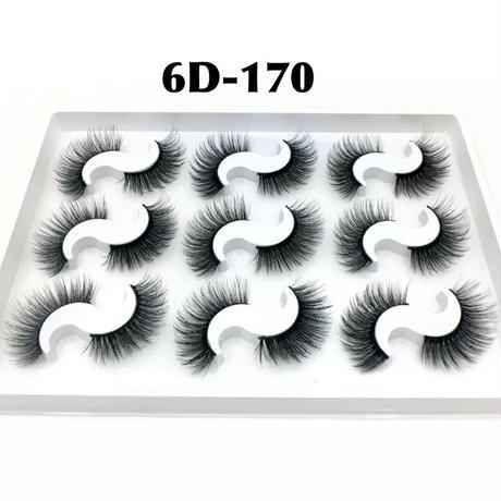 9set★6D mink★false eyelashes♡A170  cos-22