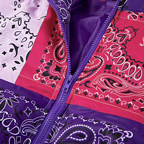 BLUE★paisley  short  jacket   jac-17