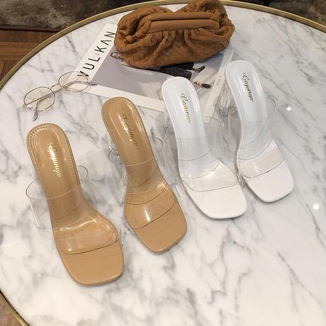 WHITE♡crear  sandal  sho-53