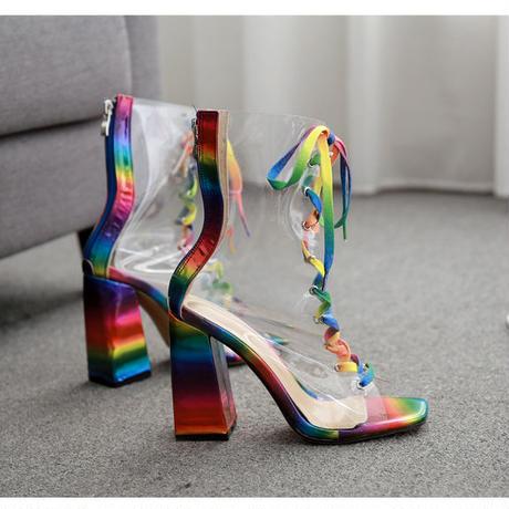 RAINBOW♡crear  boots   sho-68