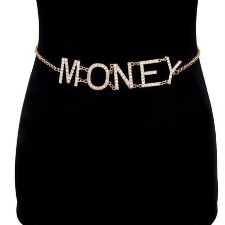 MONEY★GOLD CHAIN BELT  acc-16