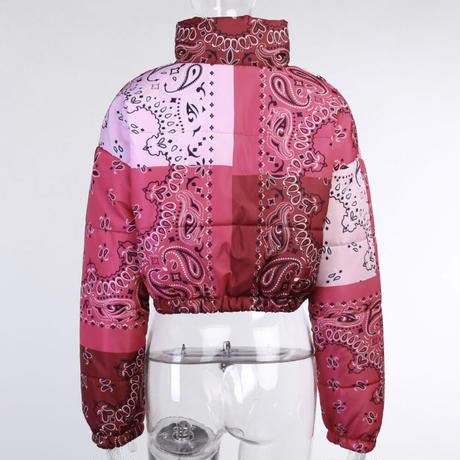 PINK★paisley  short  jacket   jac-18
