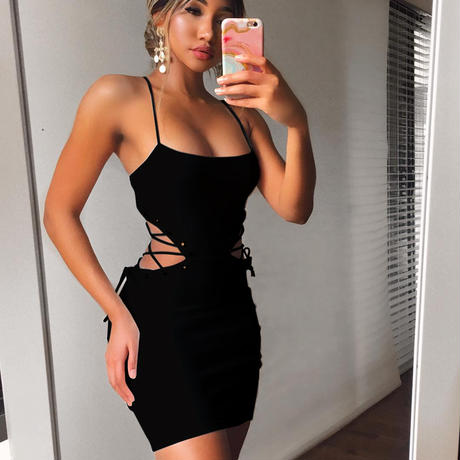 BLACK★braid dress  one-86