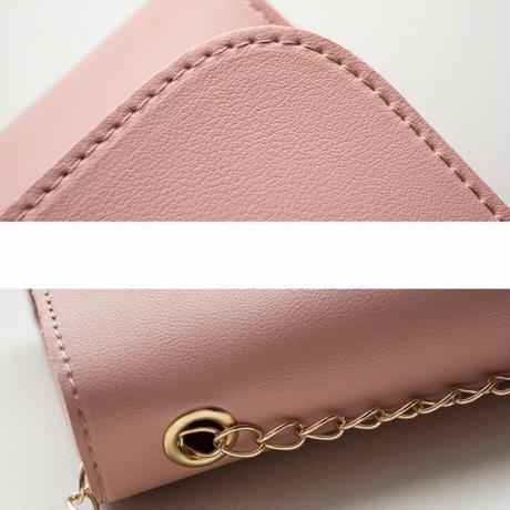 WHITE☆kiss mark  shoulder bag−10