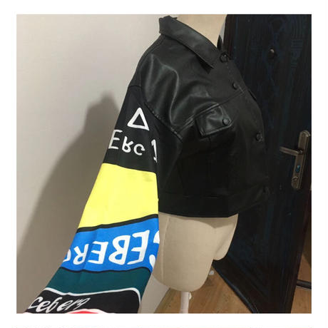 fake leather  jacket  jac-02