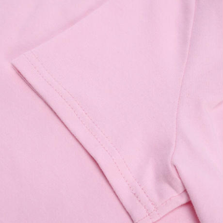 PINK★double pink logo T  top-128