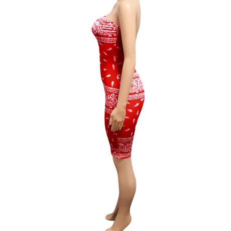 RED★PAISLEY    jump suits  one-107
