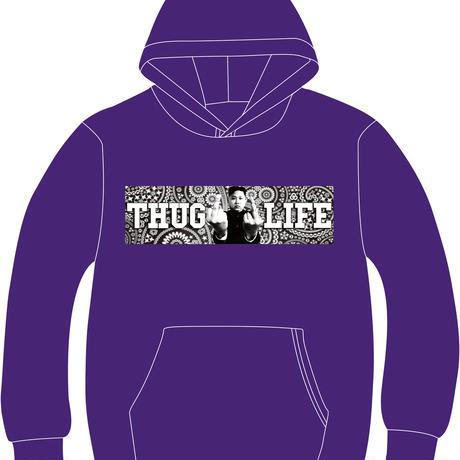 THUG LIFE PARKER (Purple&Paisley)