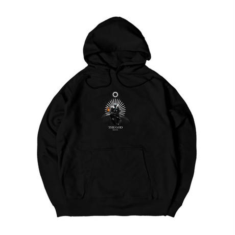 ISH-ONE THE GOD×CIRCUS WALKER collabo BLACK HOODY
