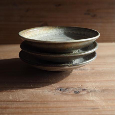 三島 豆皿
