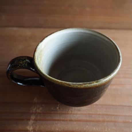 黒釉 マグカップⅠ