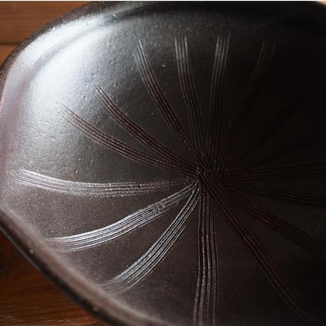 黒釉 片口鉢