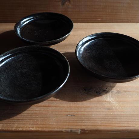 黒釉 豆皿