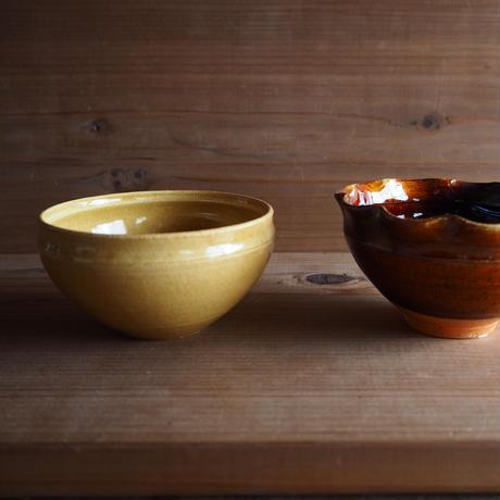 黄釉 小鉢
