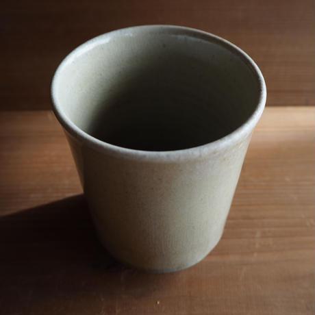 灰釉 湯呑み(大)