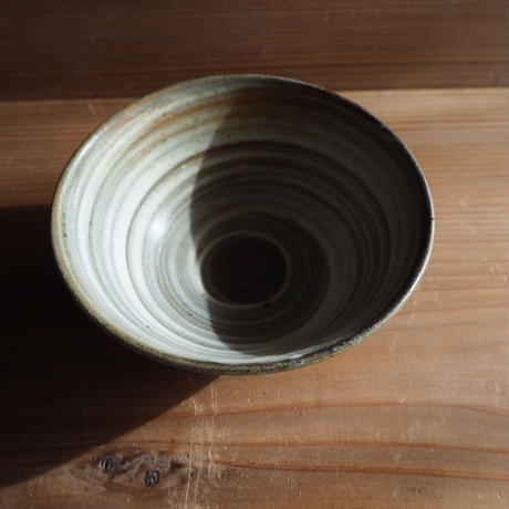 刷毛目 飯茶碗