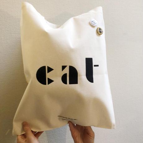 ホテルスネコ catバッグ(缶バッジ2個付き)