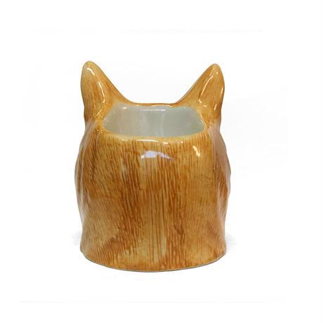 QUAIL Ceramics エッグカップ(茶トラ)