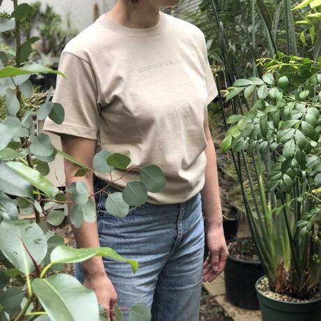 ホテルスネコ オリジナルTシャツ(ベージュ)