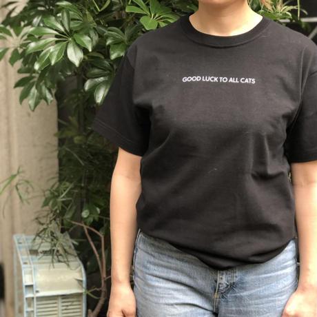 ホテルスネコ オリジナルTシャツ(ブラック)