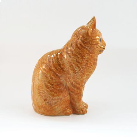 QUAIL Ceramics 貯金箱(茶トラ)