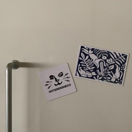 【C】MAHO IWAGANA×ホテルスネコ オリジナルマグネット2set