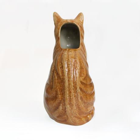 QUAIL Ceramics 花瓶 (茶白)