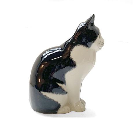 QUAIL Ceramics 貯金箱(黒ブチ)