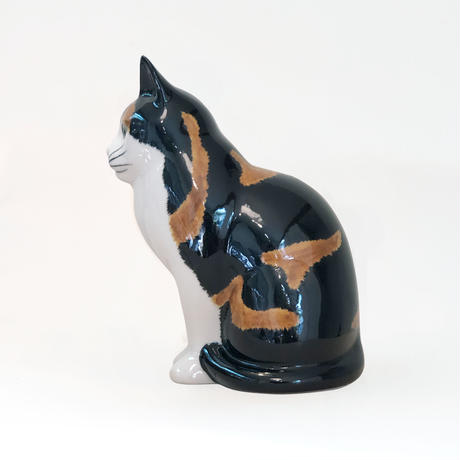 QUAIL Ceramics 貯金箱(ミケ)