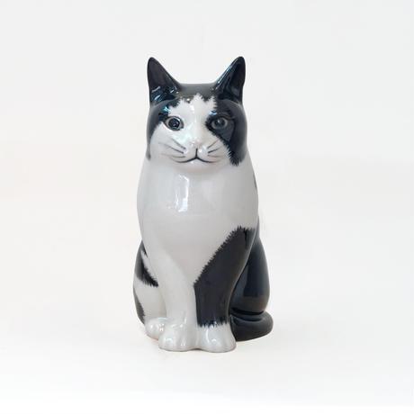 QUAIL Ceramics 花瓶 (黒ブチ)