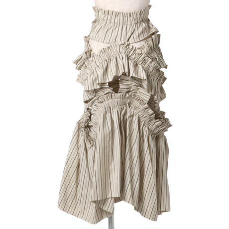 leisure frill  skirt