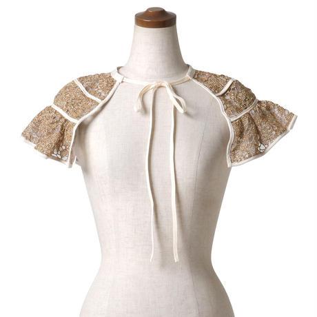 like-straw collar