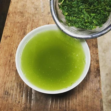 「芽吹き 新茶(80g)」2021・フレッシュな生茶仕立て