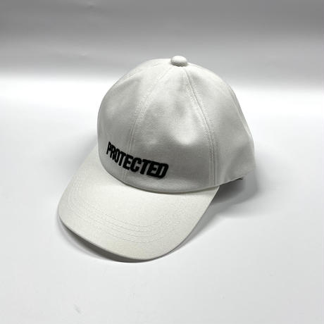 EMBROIDERY CAP / WHITE