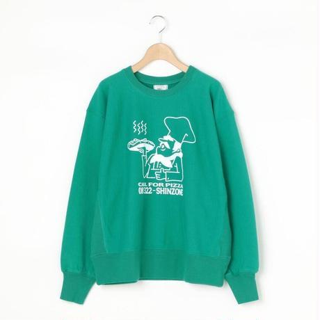PIZZA SWEAT/Green