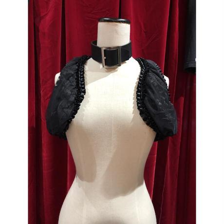 SALE★organdy in frill vest