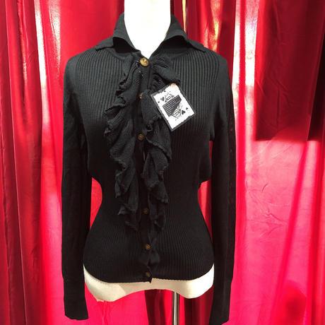 Vivienne Westwood frill  cardigan