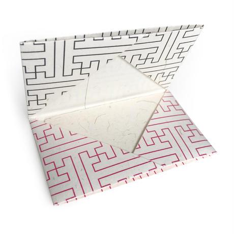 「秋名ばら」月桃紙カードケース/AKINABARA GETTOU Card Case