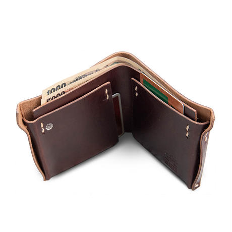 minna HITOMONOKOTO / Bridle Leather WALLET
