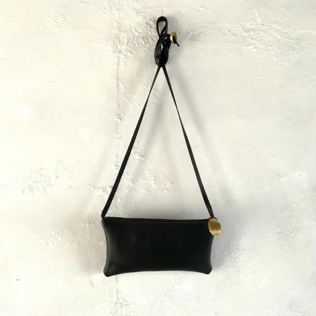 レザーポーチ(Largeサイズ)ブラック