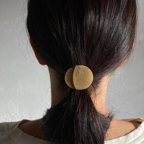 真鍮の髪留め
