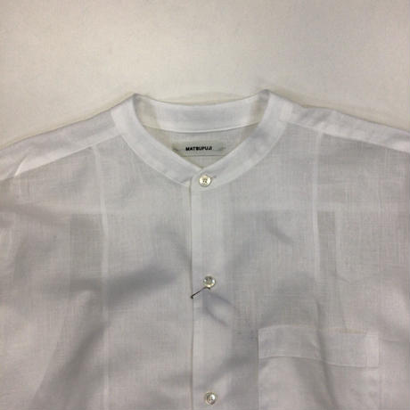 MATSUFUJI | Utility Pullover Shirt | WHITE