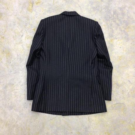 LITTLEBIG | 6B Double Breasted Jacket | BLACK