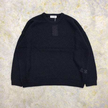 TTT MSW   Wool pullover knit   black