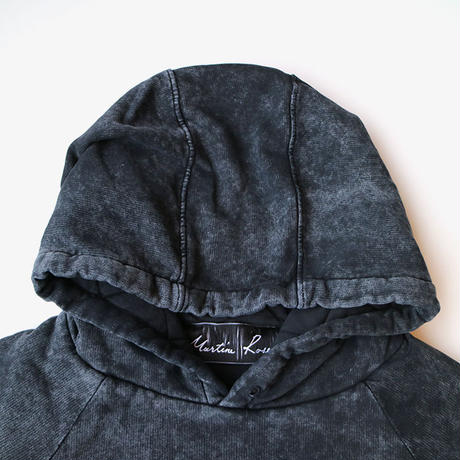 Martine Rose | ACID WASH HOODIE | BLACK