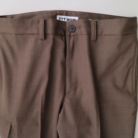TTT_MSW | suit slacks  | brown