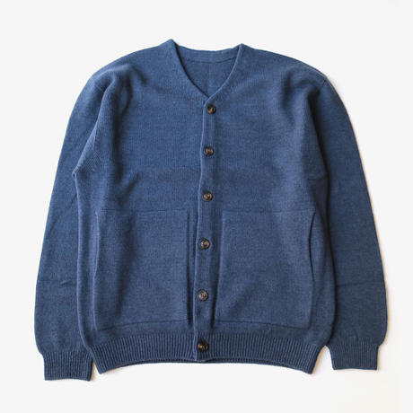 crepuscule | wholegarment v-neck cardigan  | Navy