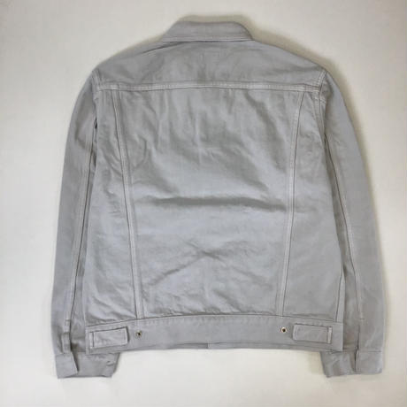 Allege. | Garment Dye Denim Blouson  | GRAY