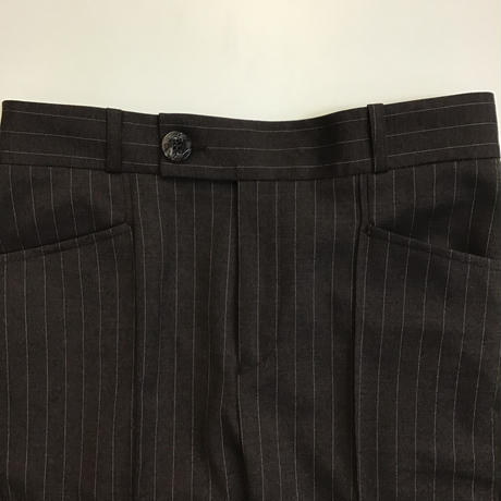ERNEST W. BAKER | FLARE TROUSERS |  BROWN